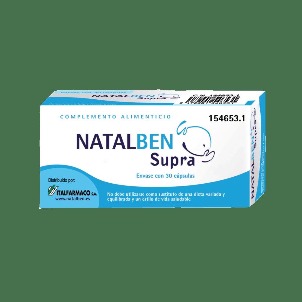 NATALBEN - SUPRA 30 CÁPSULAS