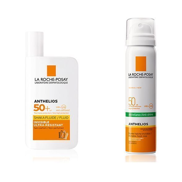 LA ROCHE POSAY - ANTHELIOS - PACK FLUIDO + SPRAY