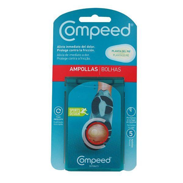 COMPEED – SPORT AMPOLLAS PLANTA DEL PIEL. 5UDS