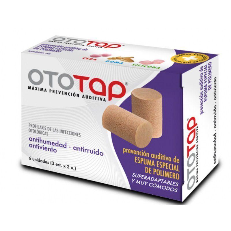 OTOTAP – TAPONES OIDOS ESPUMA 6UDS